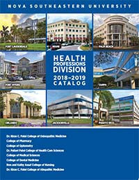College of Optometry Catalog