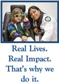 Real Lives. Real Impact. That's why we do it.